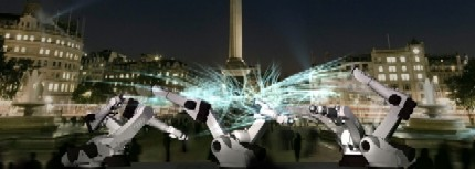 RobotsTrafalgarSquareviajeslondres
